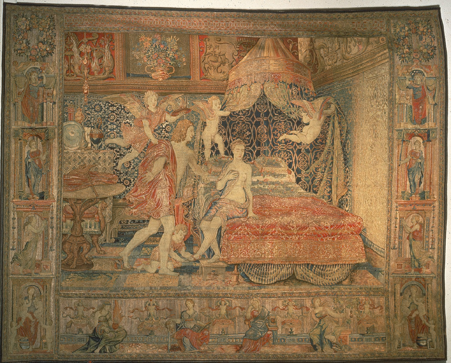 [Tapestry, The Bridal Chamber of Herse]