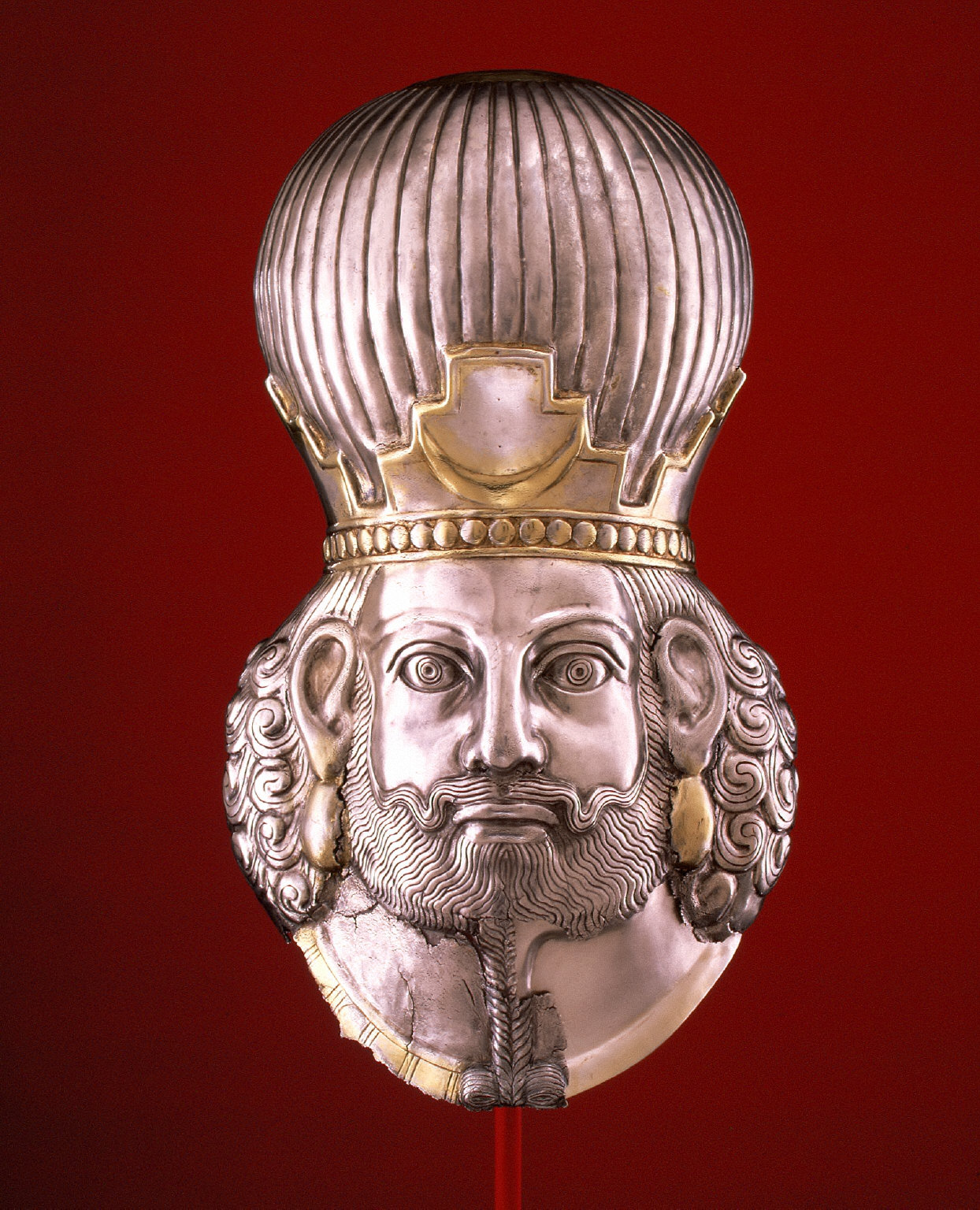 Head of a king, probably Shapur II