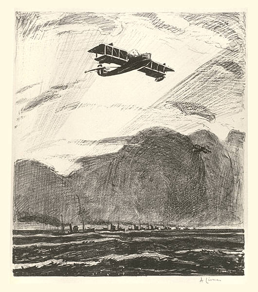 Mine Sweepers and Seaplanes
