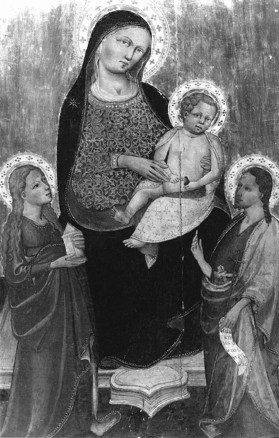 Virgin and Child with Saints Mary Magdalen and John the Baptist