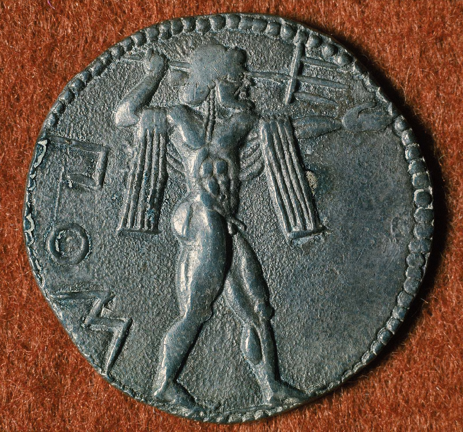 Stater with Poseidon hurling trident