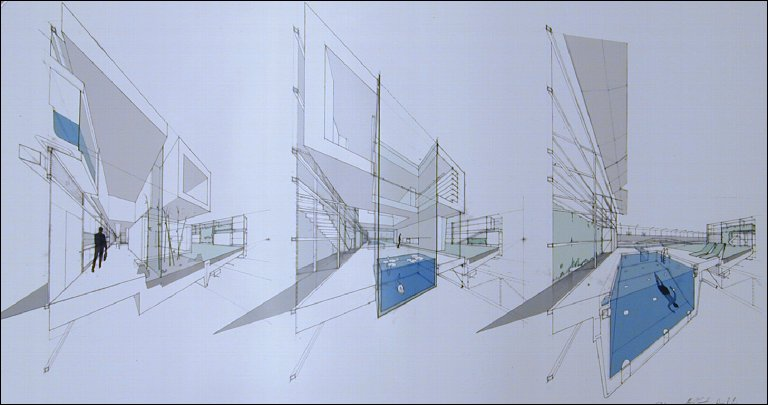 New Suburbanism Sequential Sectioned Perspectives