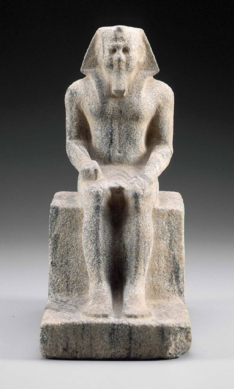 Unfinished statue of King Menkaure