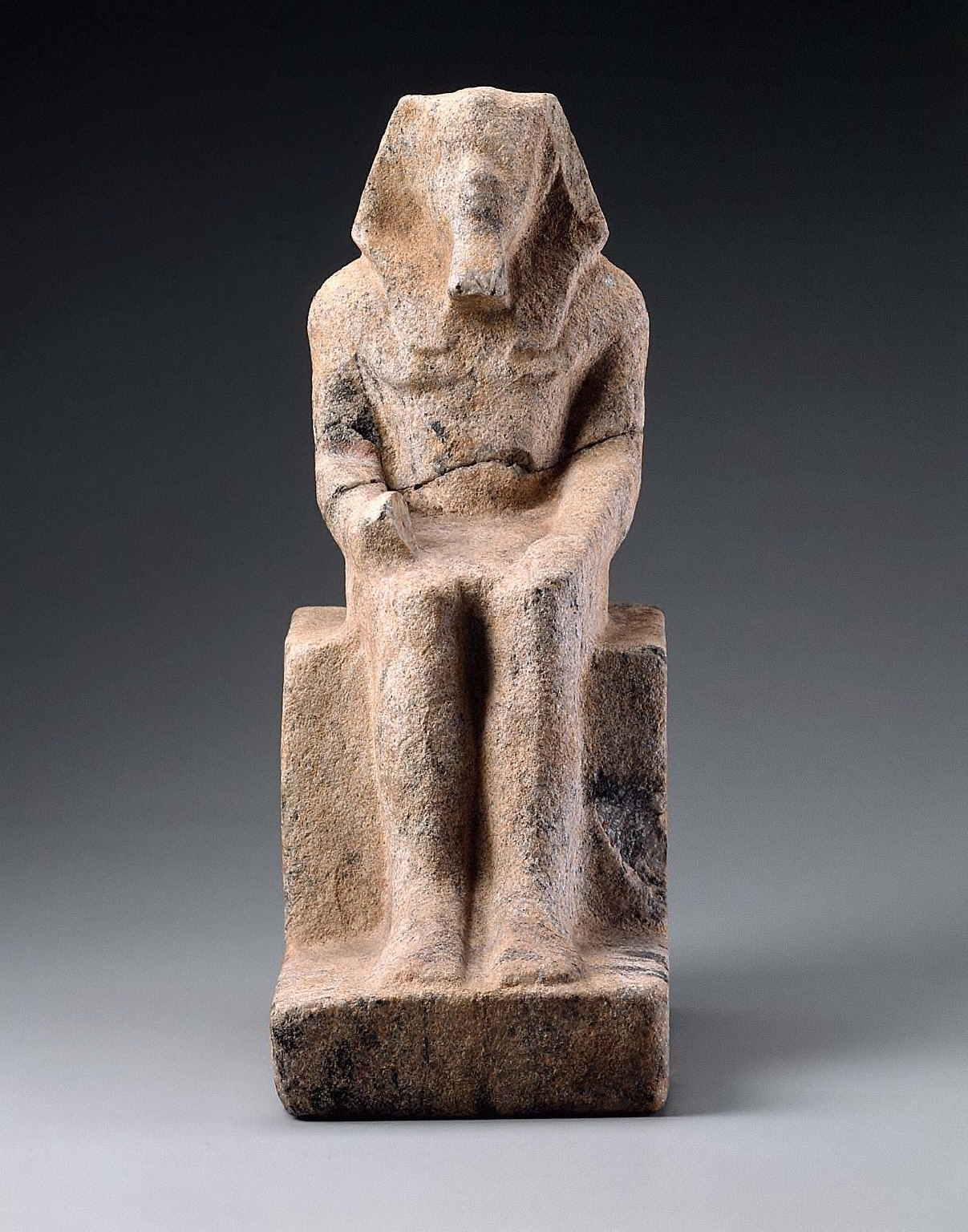Unfinished statuette of Menkaure
