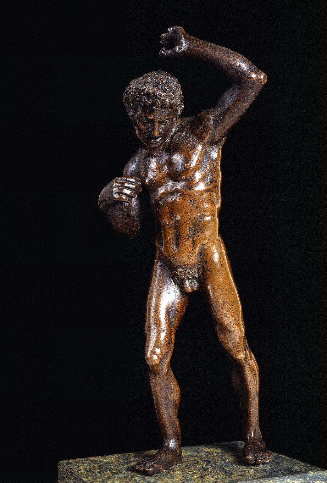 Naked Youth with Raised Left Arm
