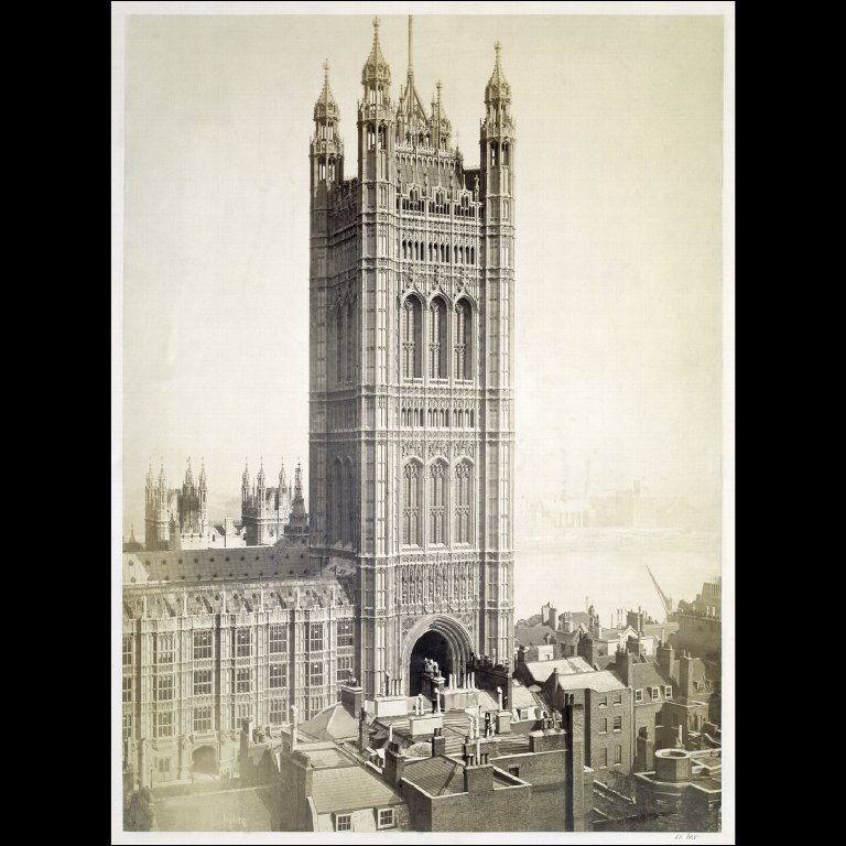 PHOTOGRAPH The Victoria Tower, Palace of Westminster