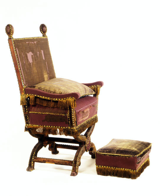 STOOL for the coronation of Charles II
