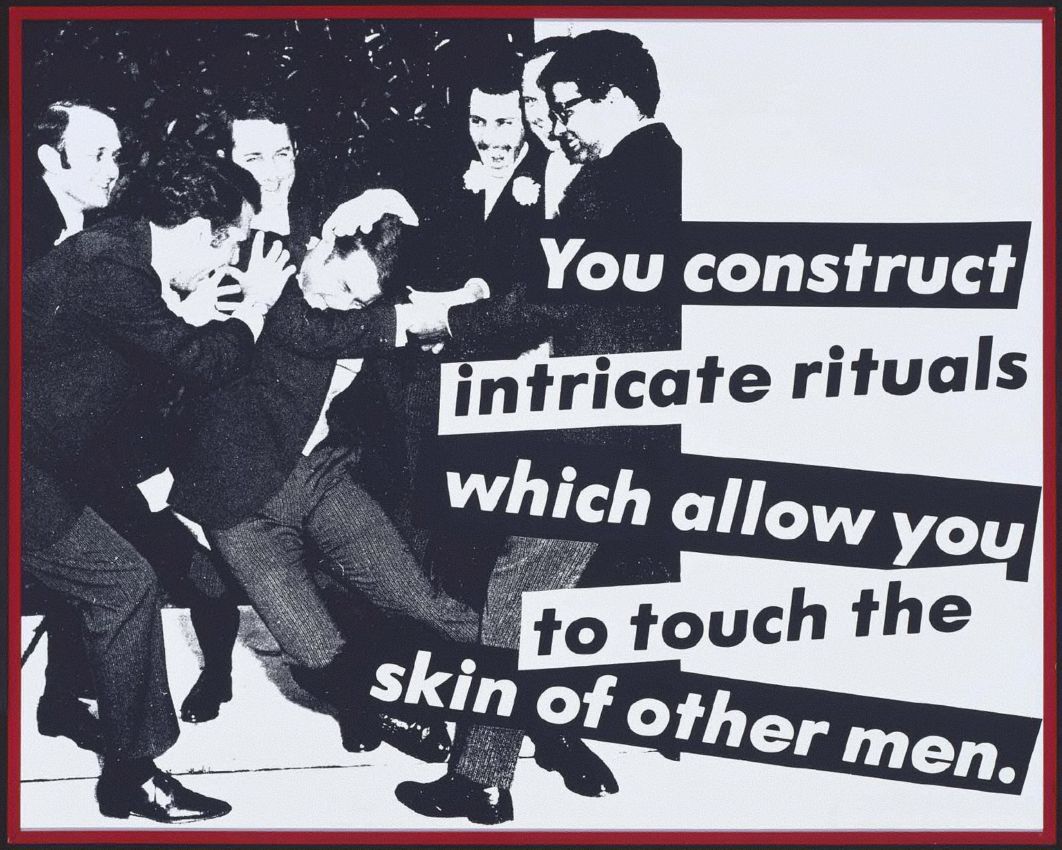 Untitled (You Construct Intricate Rituals)
