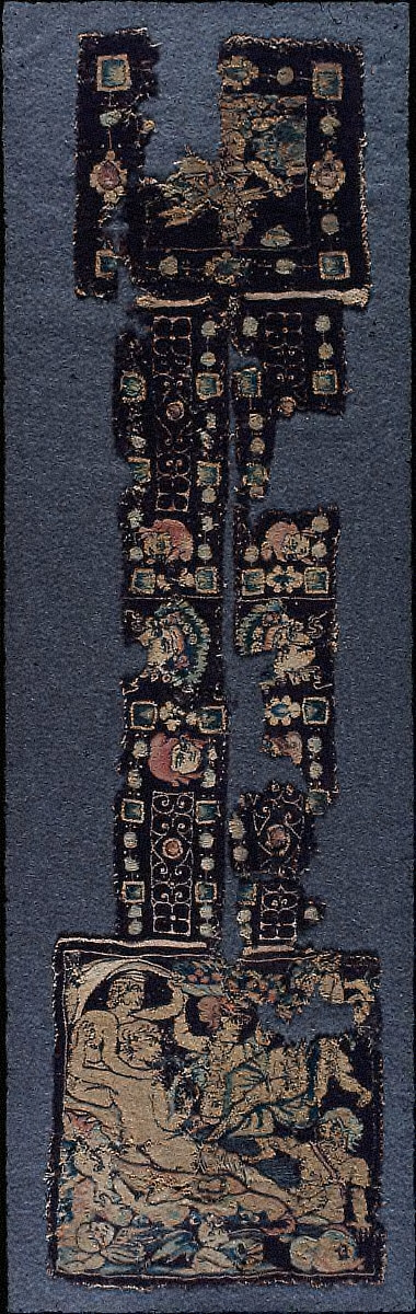ornament for the neck of a tunic