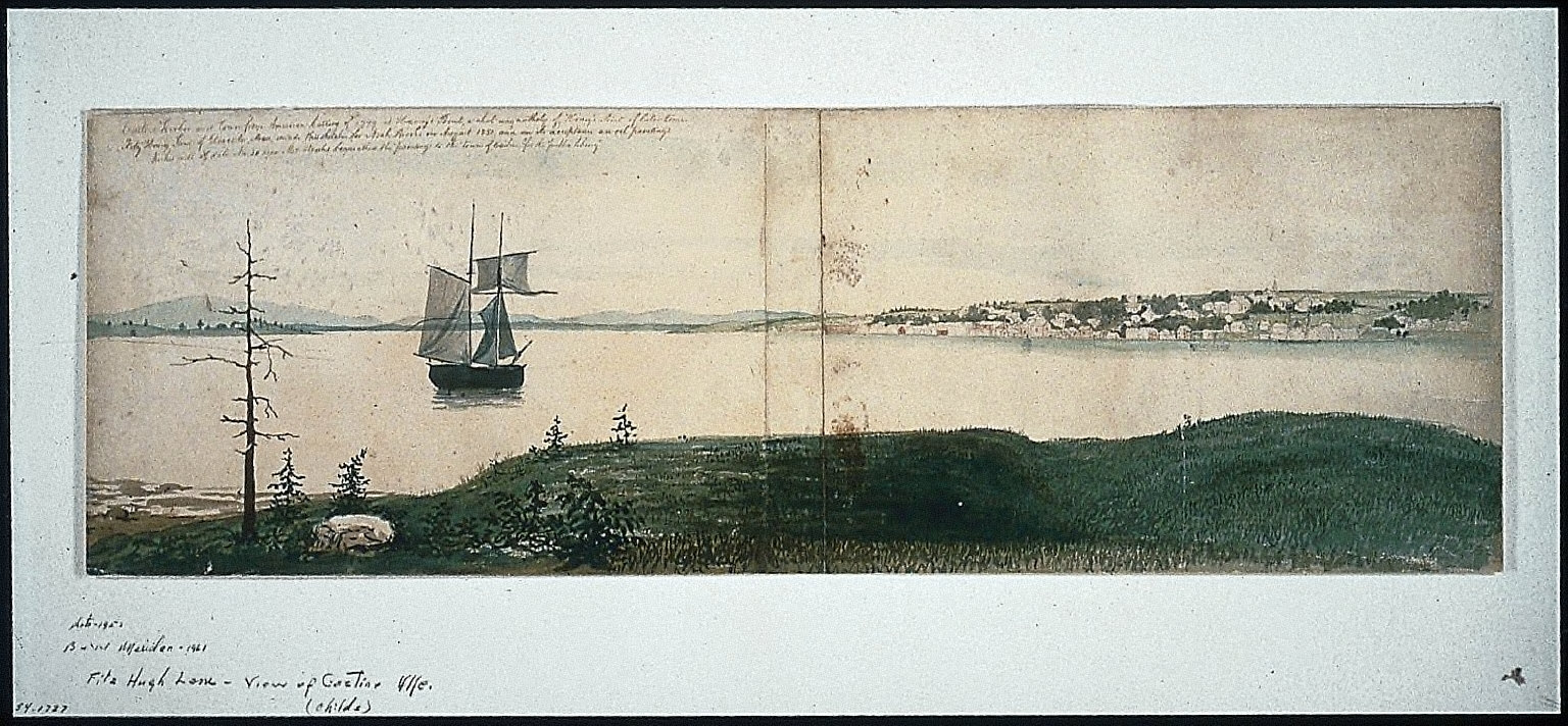 Castine Harbor and Town