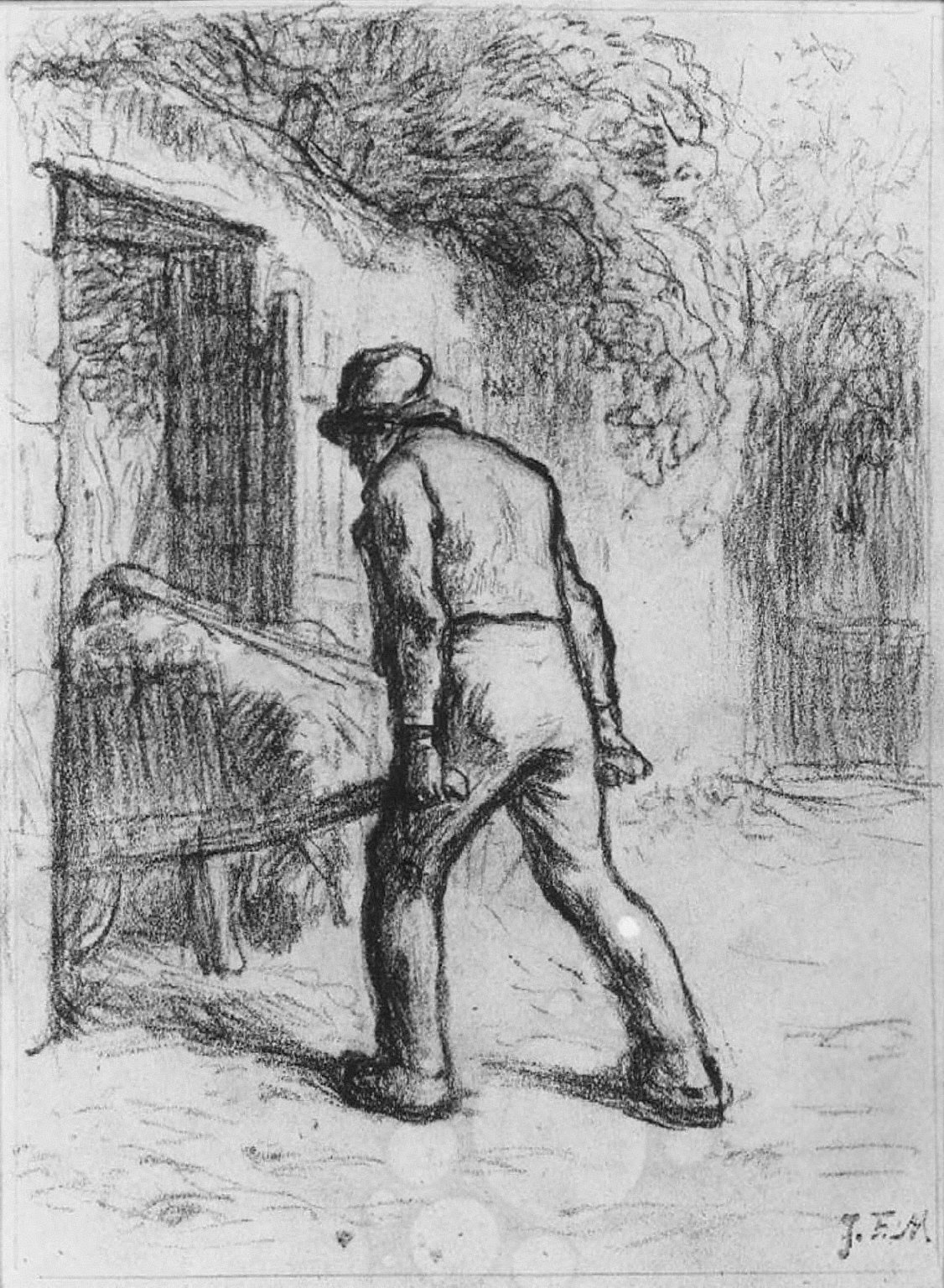 [Study for Man with a Wheelbarrow, Study for Man with a Wheelbarrow]