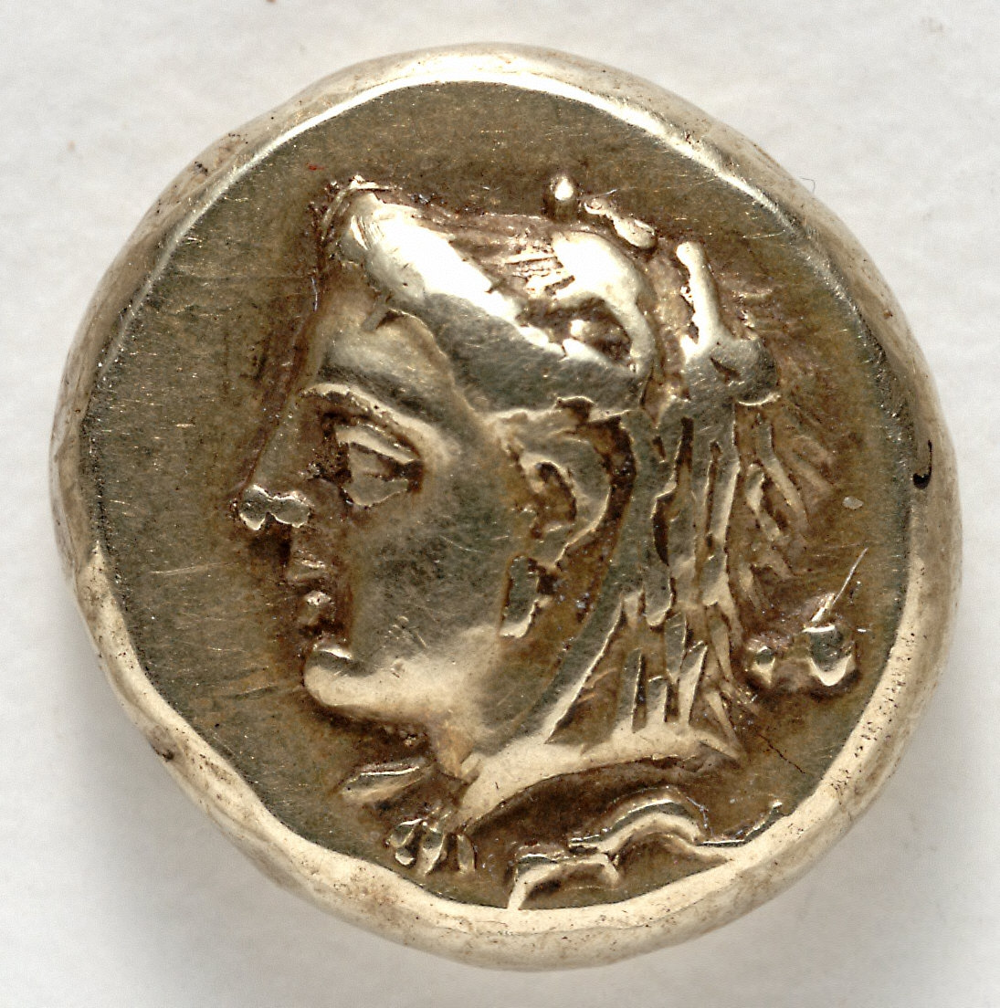 Hecte: Head of Omphale (obverse)