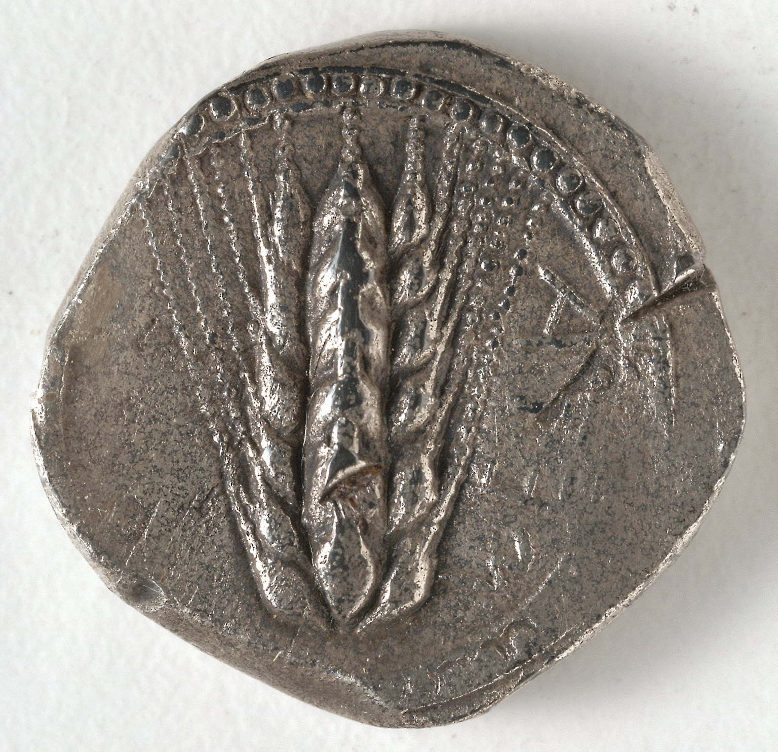 Stater: Ear of Corn (obverse)