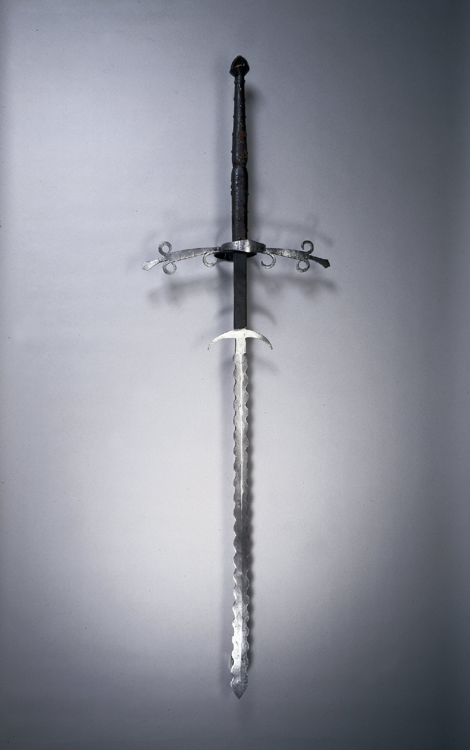 Two-Handed Sword with Flamboyant Blade