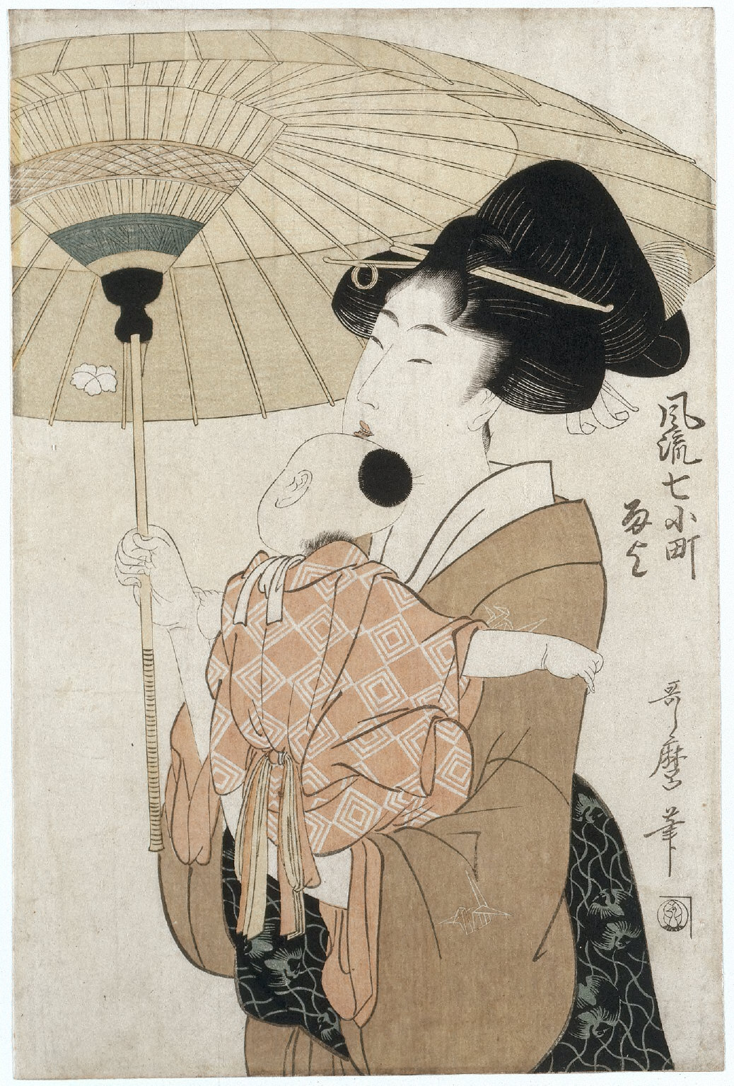 Praying for Rain (from the series Seven Elegant Episodes from the Life of Ono no Komachi)