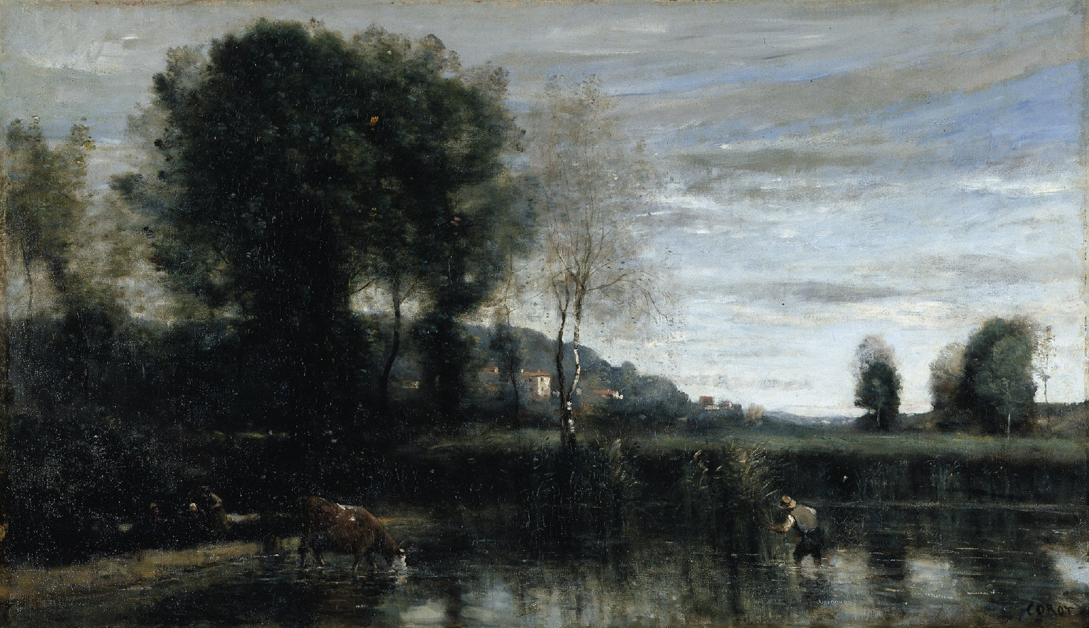 The Pond at Ville-d'Avray