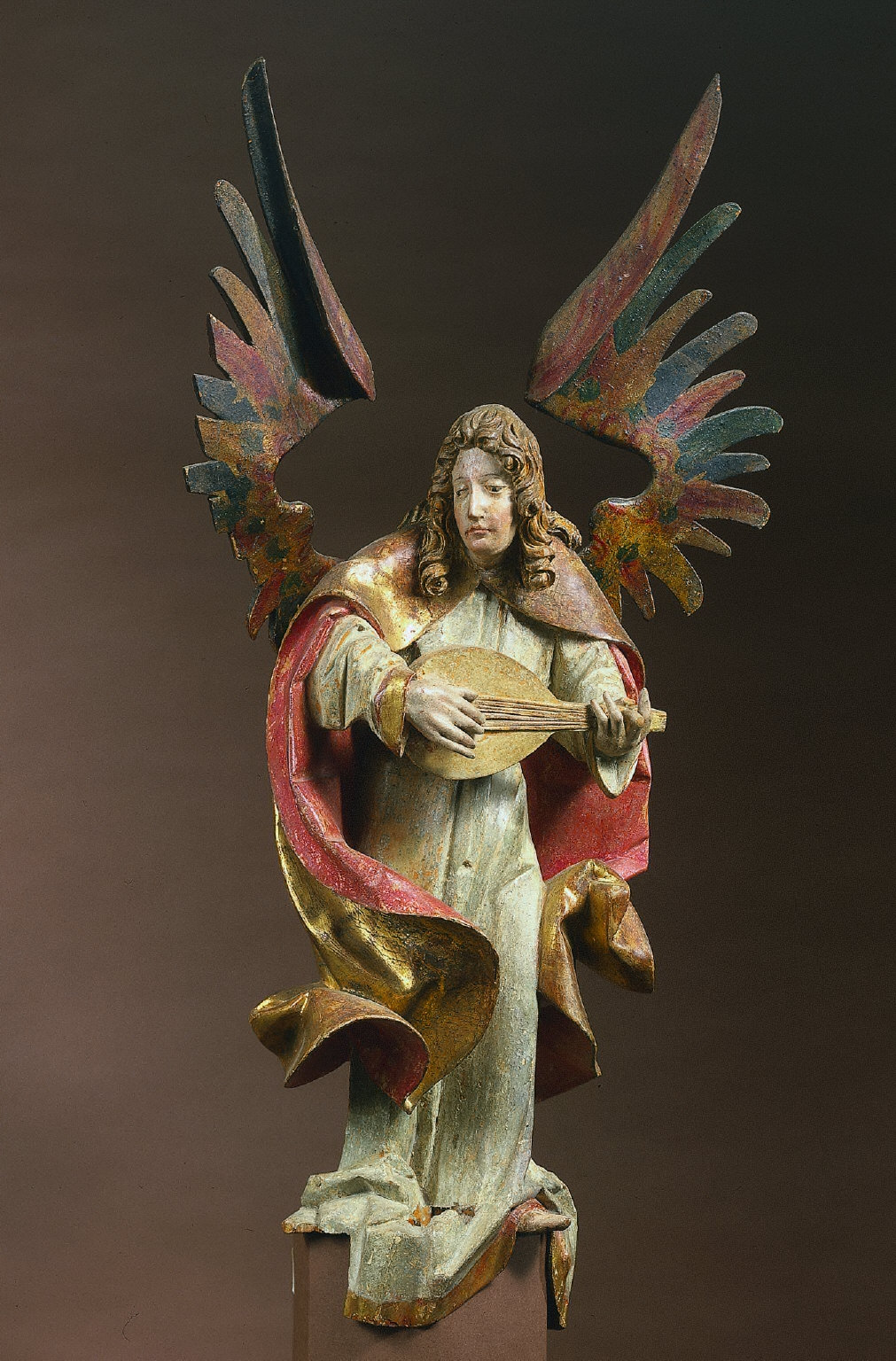 Lute-Playing Angel