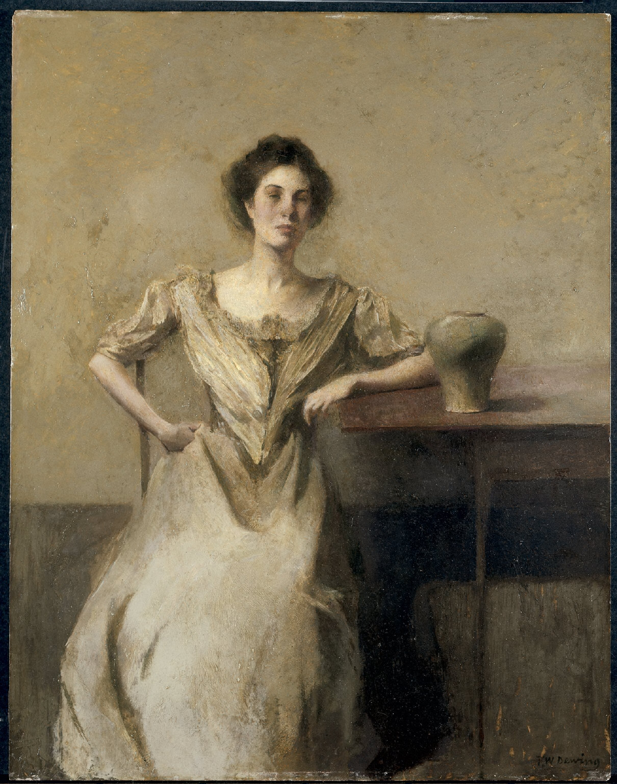 Woman Seated at Table
