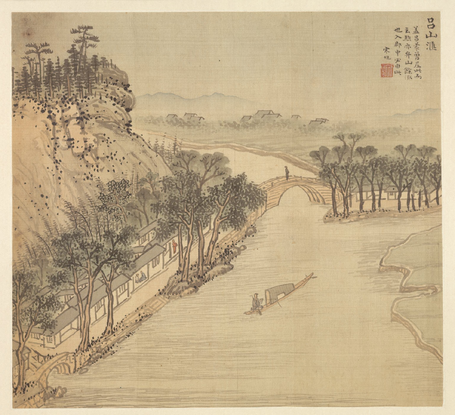 Eighteen Views of Wuxing: The Lüshan Shore