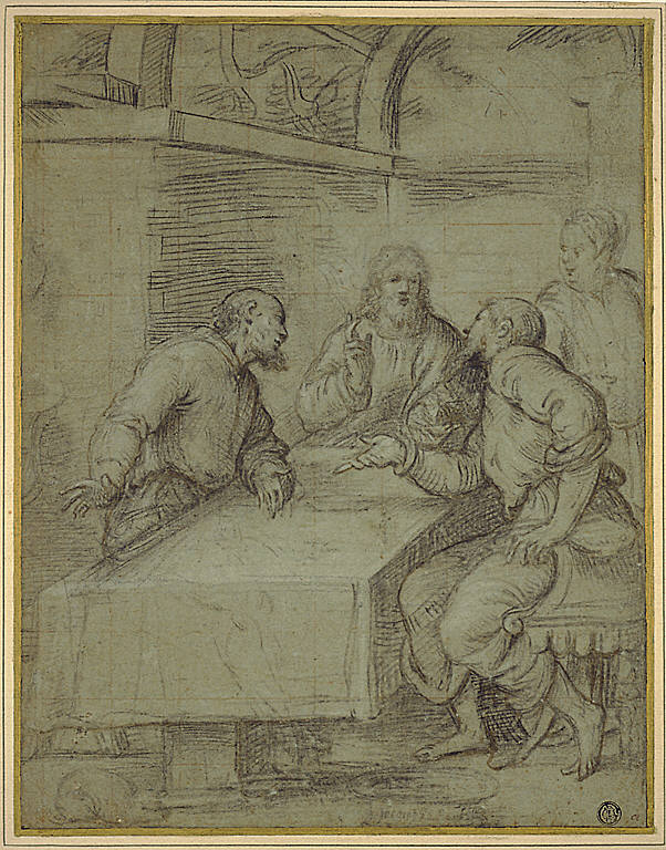 Study for the Supper at Emmaus