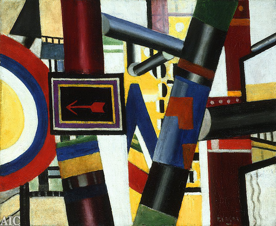 [The Railway Crossing (Preliminary Version), Study for the Level Crossing, Follow the Arrow (Study for the Level Crossing), Le Passage à Niveau]