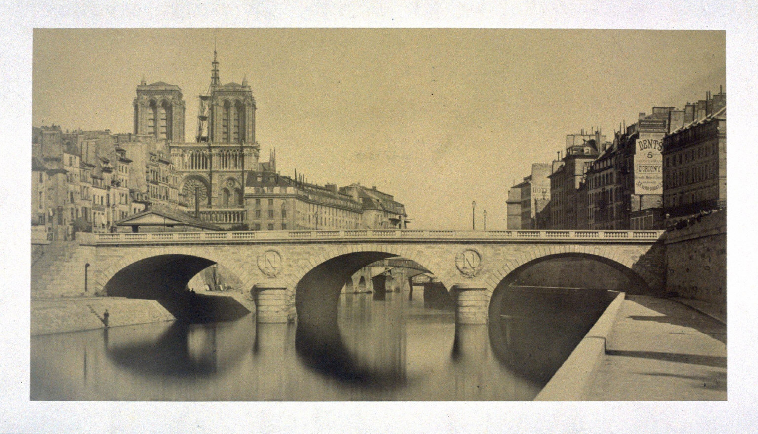 View of Notre-Dame