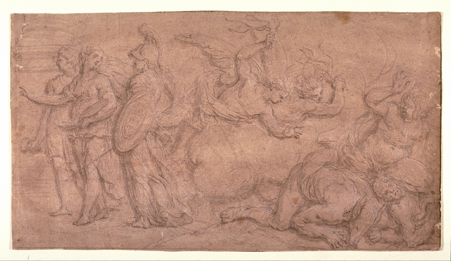 Allegorical Drawing