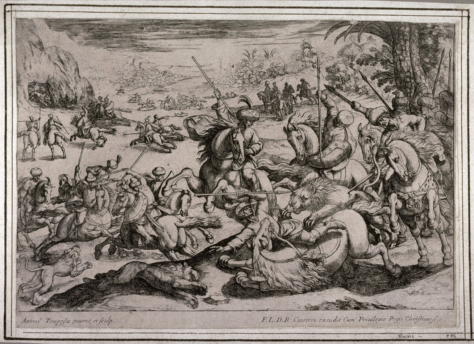 Lion Hunt, from the series Hunting Scenes V