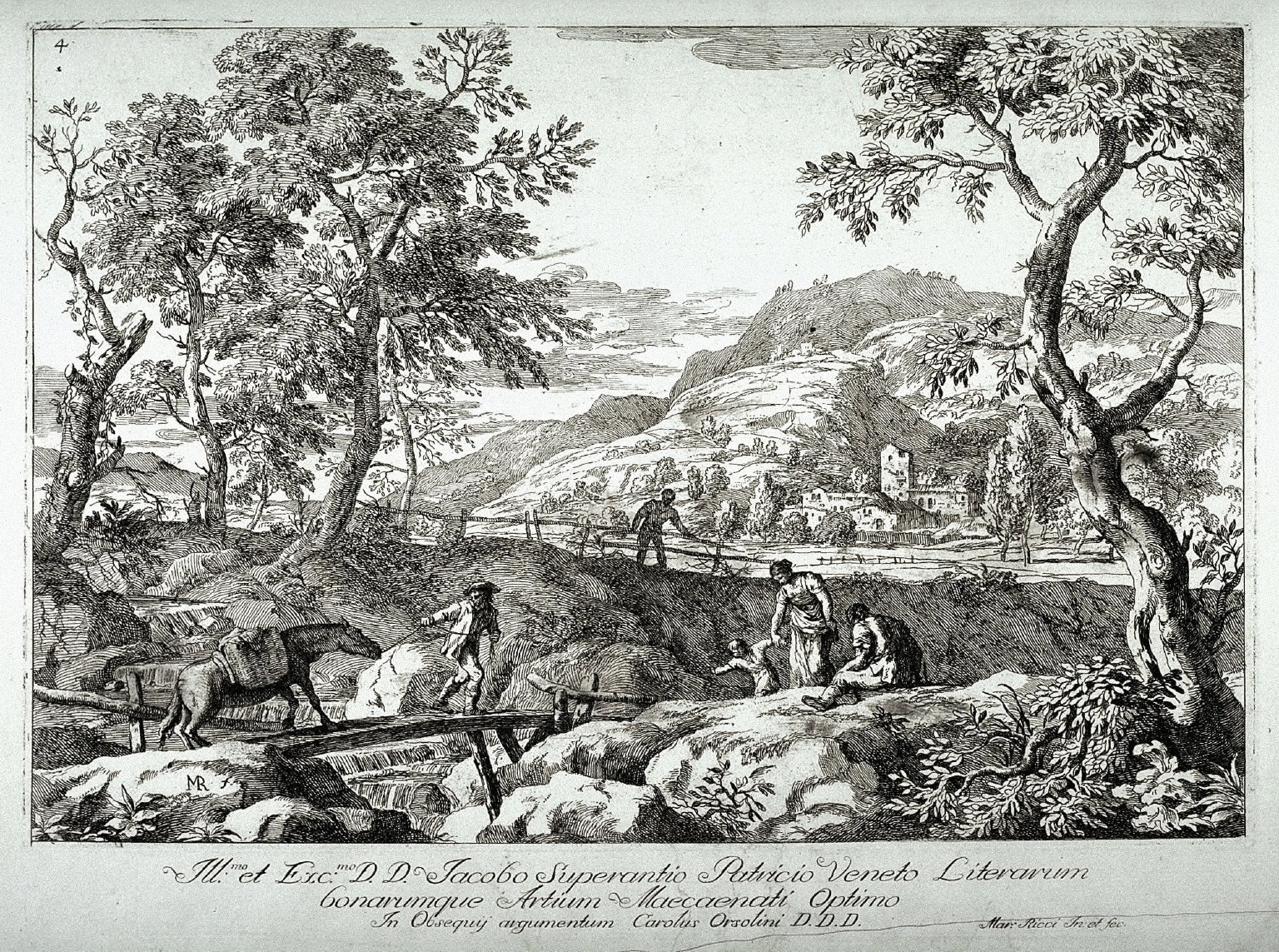 Landscape with a Peasant and a Horse