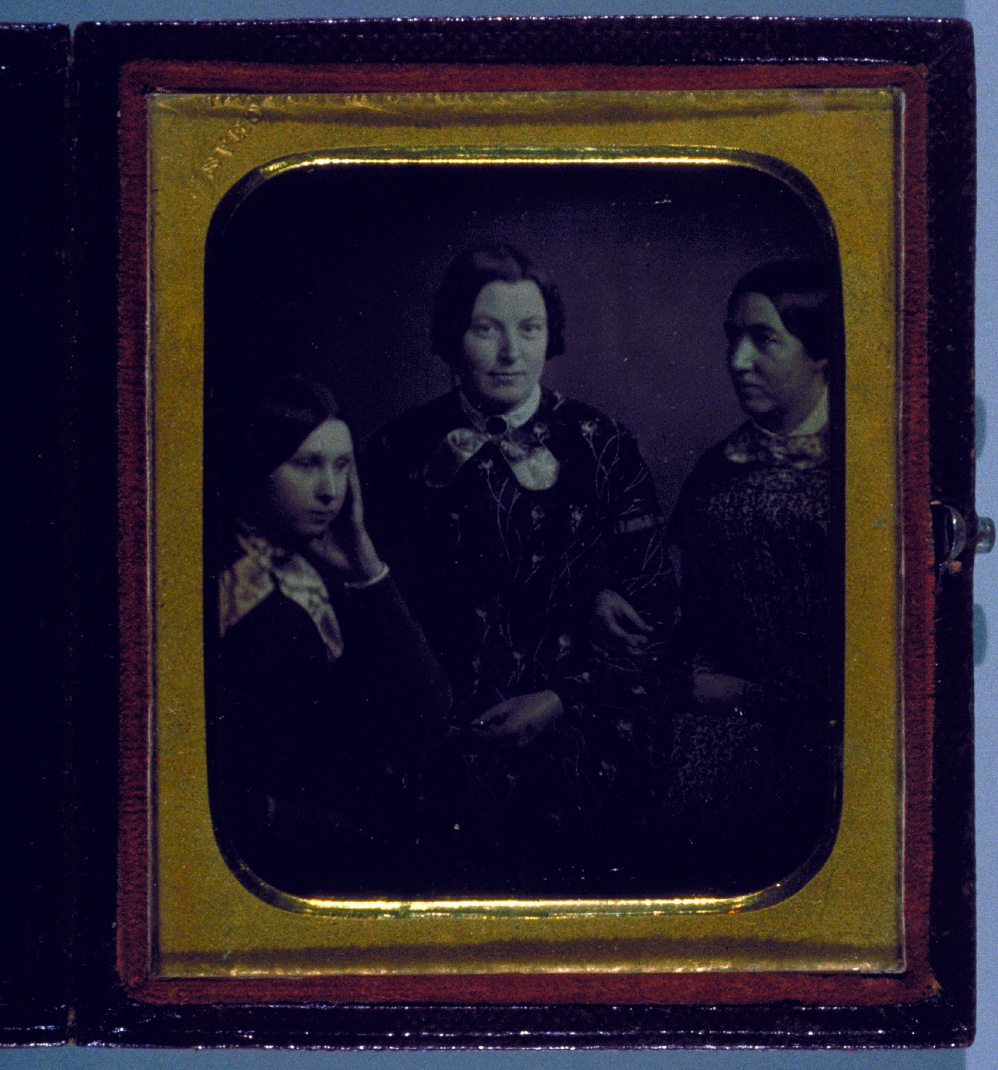 Three Women, Seated