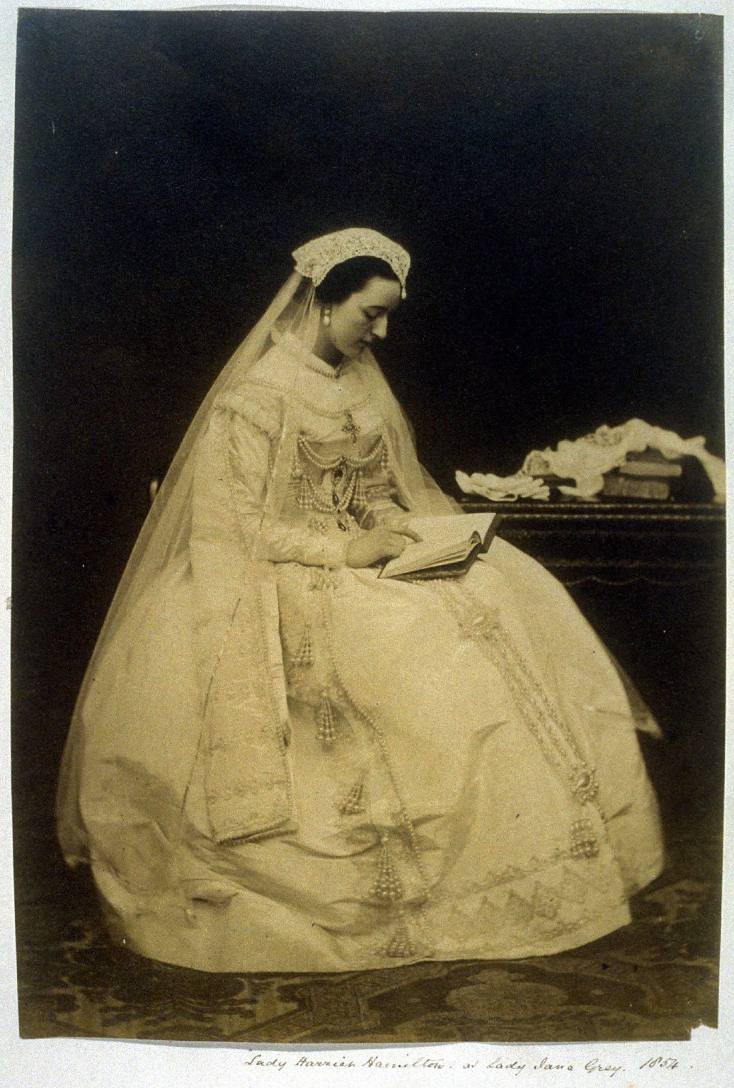 Lady Harriet Hamilton as Lady Jane Grey