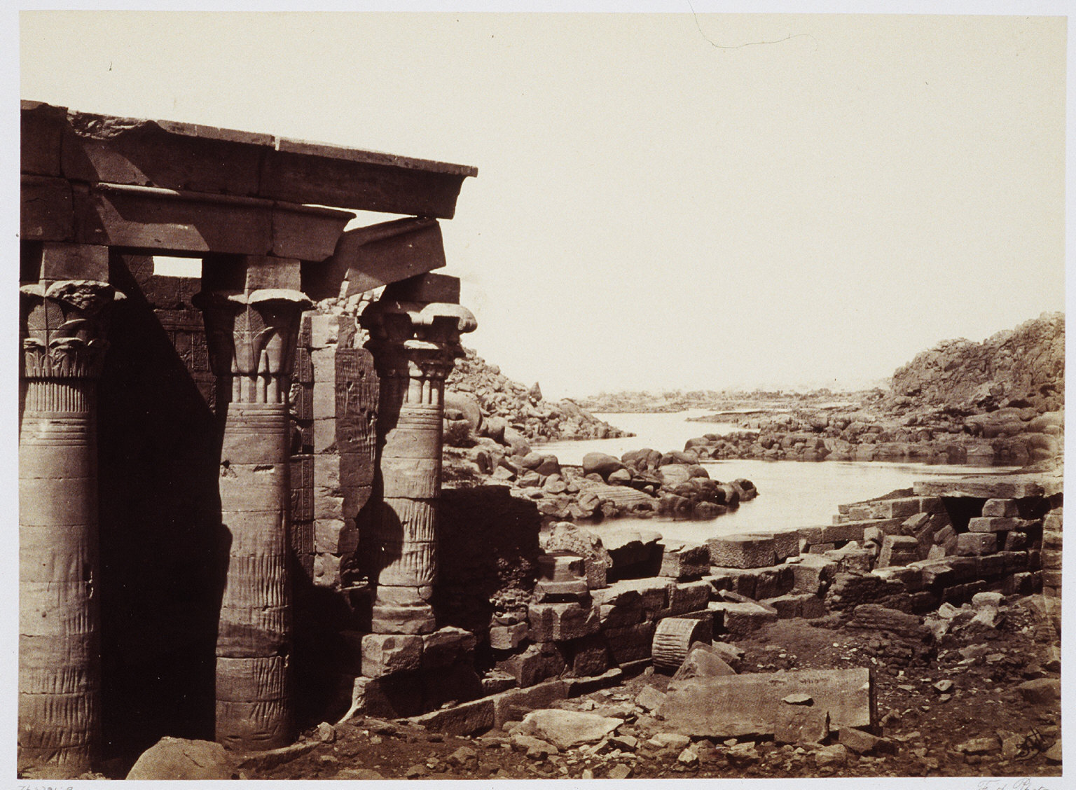 View From Philae Looking North
