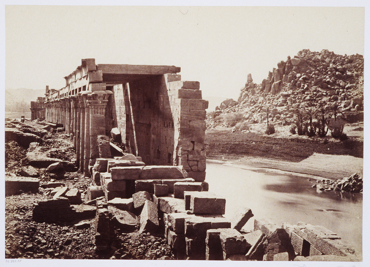 The Colonnade- Island of Philae