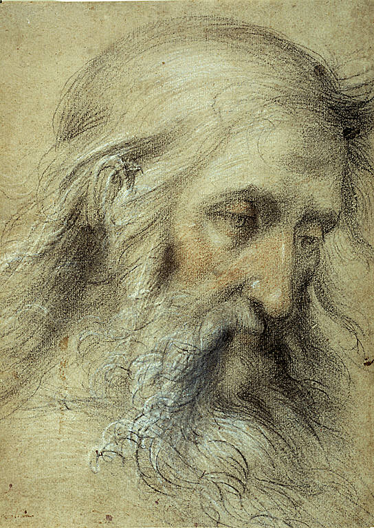 Head of Saint John the Evangelist: Study for the Disputation on the Immaculate Conception