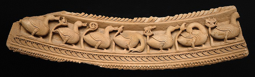 Frieze with Geese