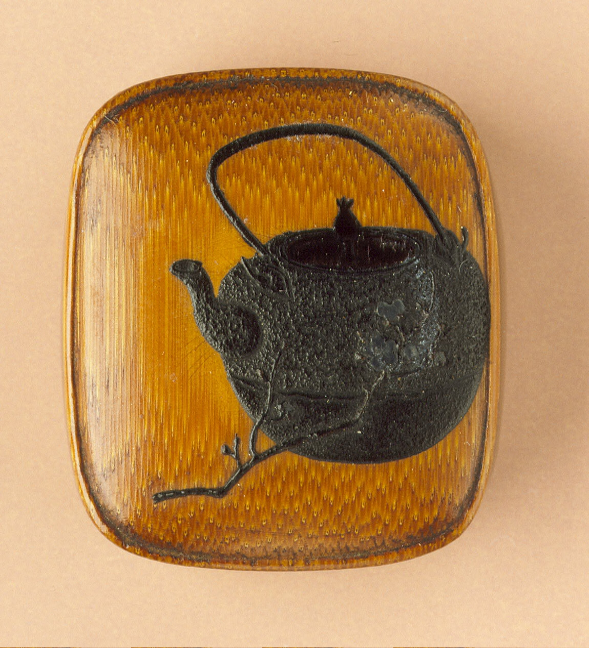 Box with Tea Kettle Design