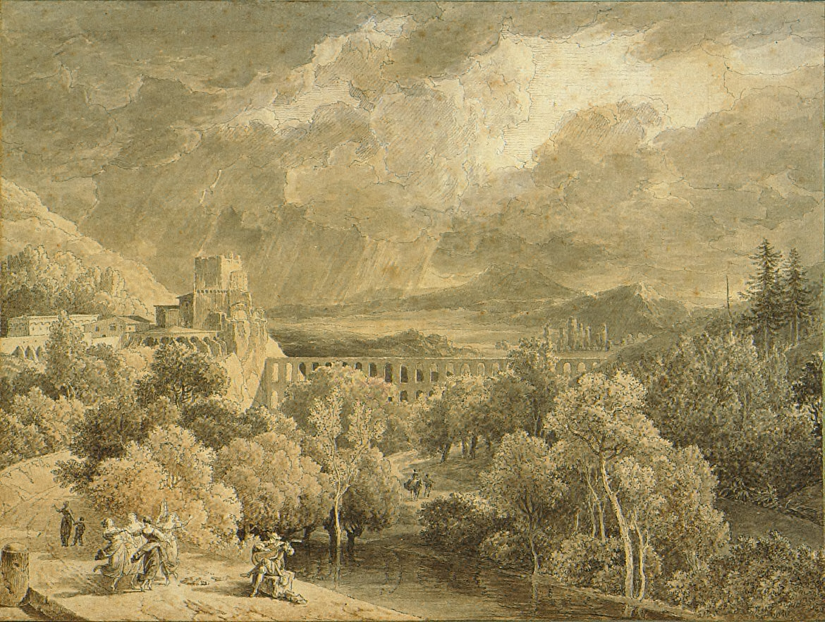 Landscape with an Aqueduct