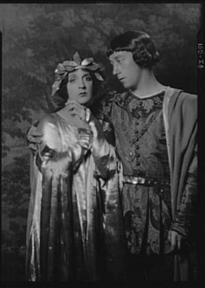 Cowl, Jane, Miss, and Rollo Peters, in costume