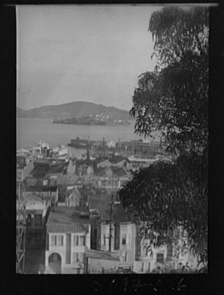 San Francisco view from residence of Mr. Bertram Alanson