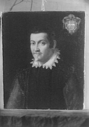Portrait painting that possibly belonged to Arnold Genthe
