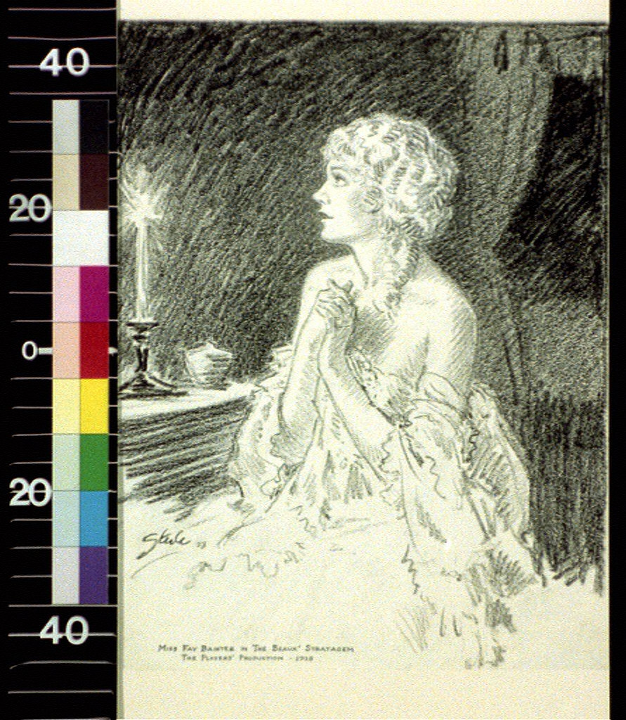 Miss Fay Bainter in The Beaux Stratagem, the Players' Production, 1928