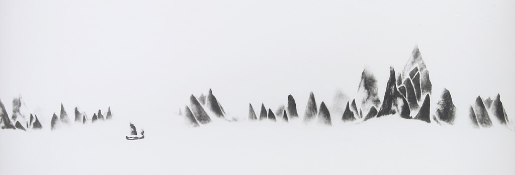 In a Snow Storm, Li River, Peoples Republic of China