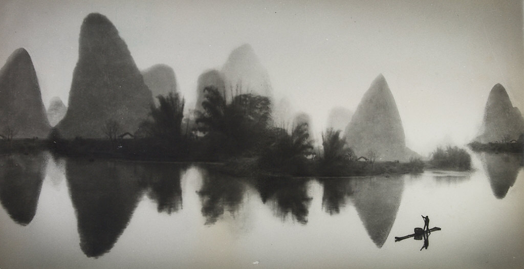 On the Li River, Peoples Republic of China